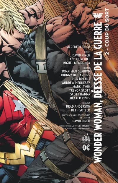 Page 3 Wonder Woman, déesse de la guerre tome 2