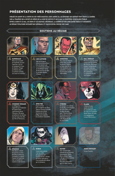 Page 4 Injustice tome 6