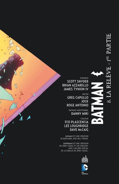 Page 3 Batman tome 8
