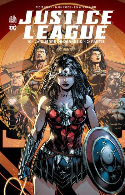 Couverture Justice league tome 10