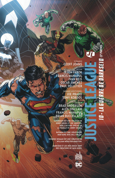 Page 3 Justice league tome 10