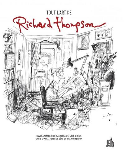 Couverture Tout l'art de Richard Thompson