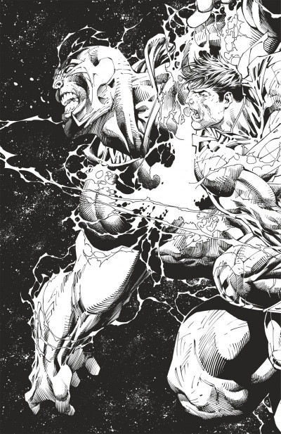 Page 2 Superman unchained N&B