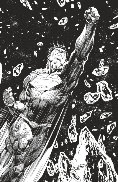 Page 4 Superman unchained N&B