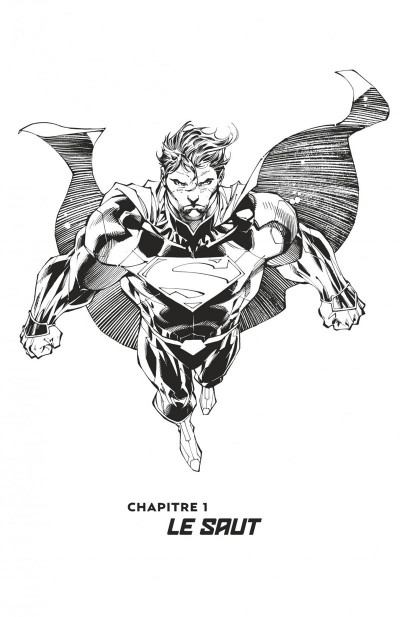 Page 6 Superman unchained N&B