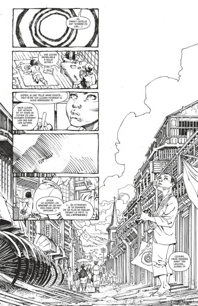 Page 7 Superman unchained N&B