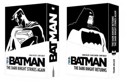 Couverture Batman dark knight returns et dark knight strikes again - coffret