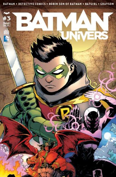 Couverture Batman univers tome 3