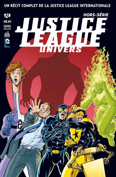 Couverture Justice league univers HS tome 1