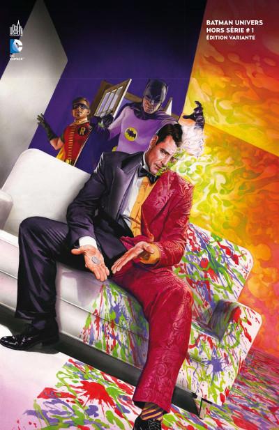 Couverture Batman univers HS - variant tome 1