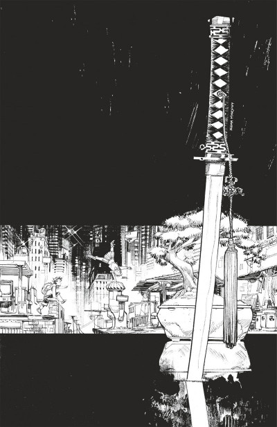 Page 1 Tokyo ghost tome 1 - édition n&b
