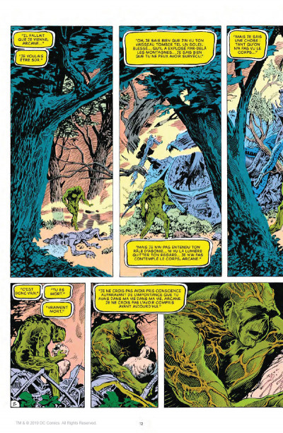 Page 2 Alan Moore présente Swamp Thing tome 1