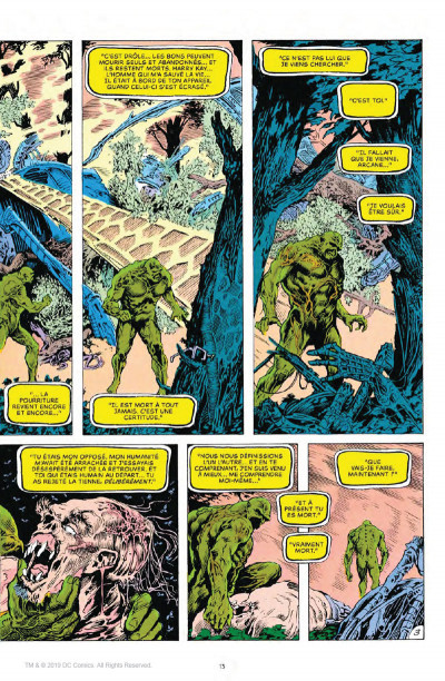 Page 3 Alan Moore présente Swamp Thing tome 1