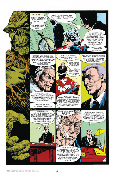 Page 4 Alan Moore présente Swamp Thing tome 1