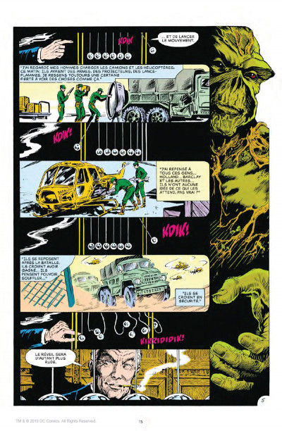 Page 5 Alan Moore présente Swamp Thing tome 1