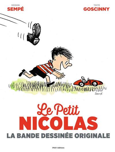 Couverture Le Petit Nicolas - la bande dessinée originale