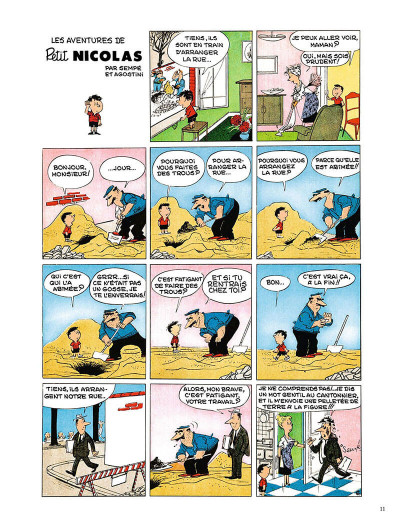 Page 0 Le Petit Nicolas - la bande dessinée originale