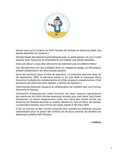 Page 4 Le Petit Nicolas - la bande dessinée originale