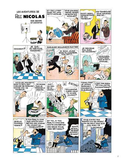 Page 6 Le Petit Nicolas - la bande dessinée originale