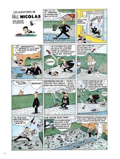 Page 7 Le Petit Nicolas - la bande dessinée originale