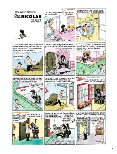 Page 8 Le Petit Nicolas - la bande dessinée originale