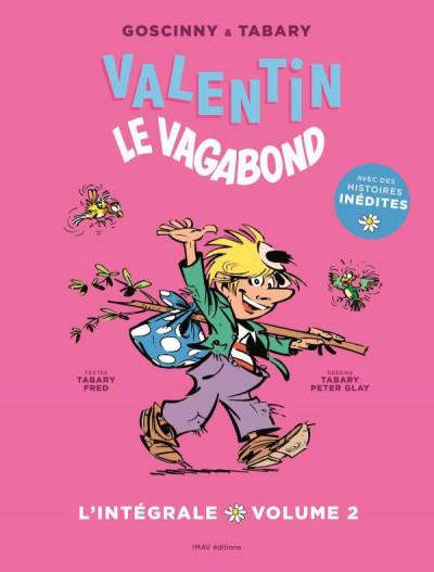 Couverture Valentin le vagabond - l'intégrale tome 2