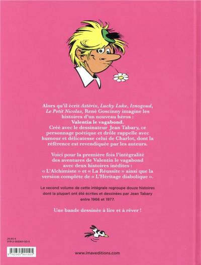 Dos Valentin le vagabond - l'intégrale tome 2