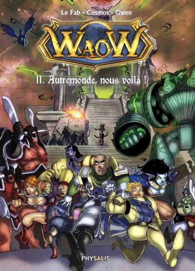 Couverture waow tome 11 - Autremonde, nous voila !