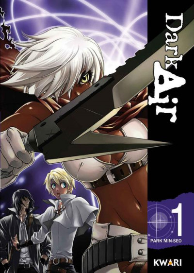 Couverture dark air tome 1