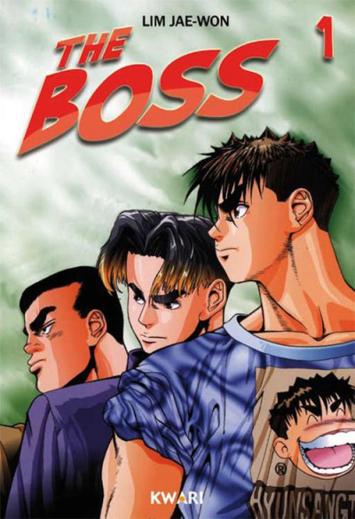 Couverture the boss tome 1