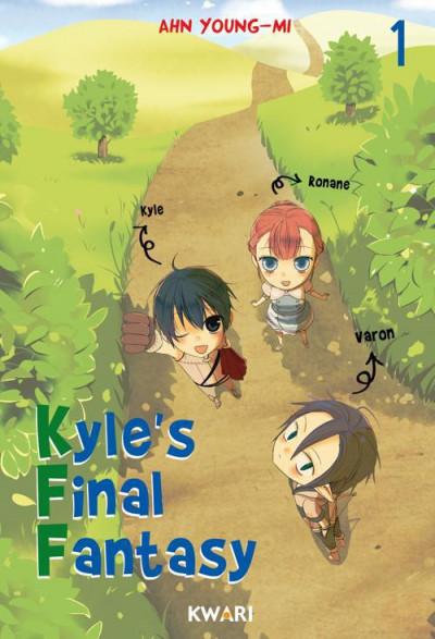 Couverture Kyle's final fantasy tome 1