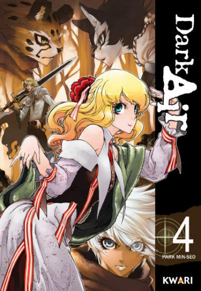 Couverture dark air tome 4