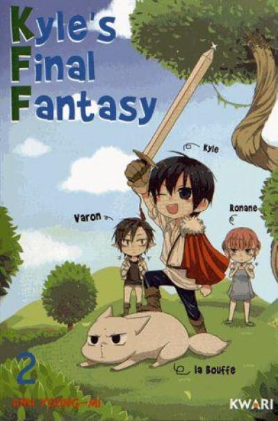Couverture Kyle's final fantasy tome 2