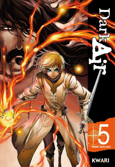 Couverture dark air tome 5