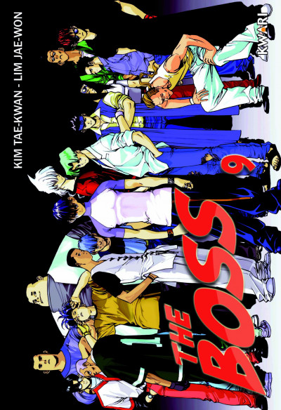 Couverture the boss tome 9