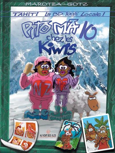 Couverture pito ma tome 10 - chez les Kiwis