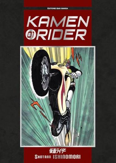 Couverture kamen rider tome 1