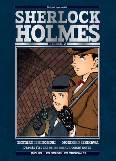 Couverture Sherlock Holmes tome 2