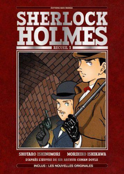 Couverture Sherlock Holmes tome 3