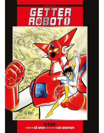Couverture Getter robot tome 1