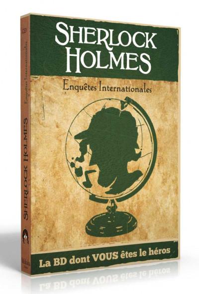 Couverture Sherlock Holmes - Enquêtes internationales