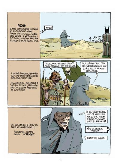 Page 1 Féréus le fléau - Fils de la colère et du vent