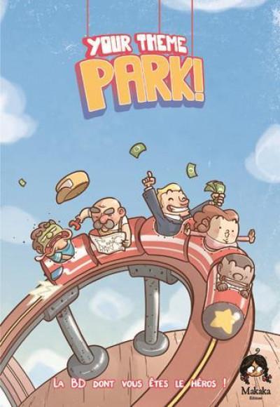 Couverture Your theme park - La BD dont vous êtes le héros