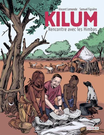 Couverture Kilum rencontre avec les Himbas