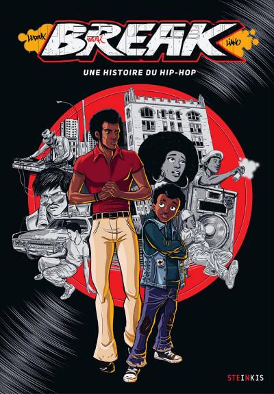 Couverture Break - Une histoire du hip hop