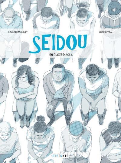 Couverture Seidou, en quête d'asile