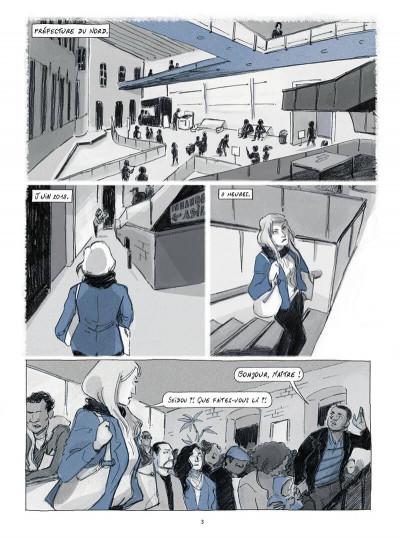 Page 3 Seidou, en quête d'asile