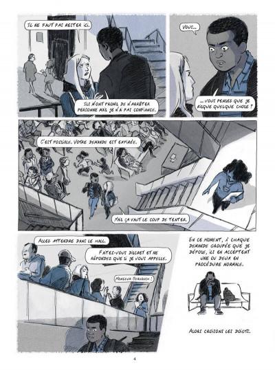 Page 4 Seidou, en quête d'asile