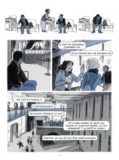 Page 5 Seidou, en quête d'asile