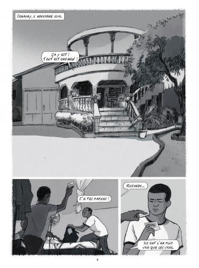 Page 8 Seidou, en quête d'asile